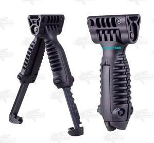 Bipoide Tactico Ajustable Riel 20mm Marcadora Gotcha Xtreme