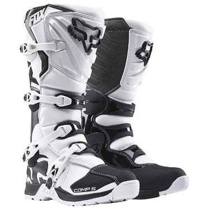 Botas Fox Comp 5 Blanca Mx  Motocross Enduro Atv Talla 7