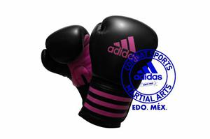 Guantes De Box adidas Power 100 Negro/purpura 16 Oz