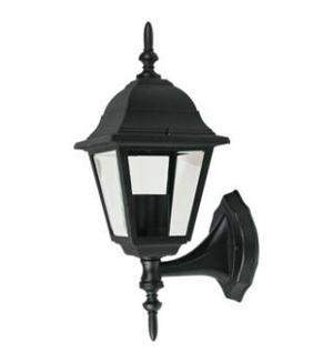 Lámpara Pared Exterior Farol Cuadrado Chico Negro E27 Calux