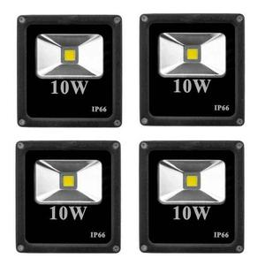 Mini Reflector Lampara Luz Led Exterior 10w Luminario