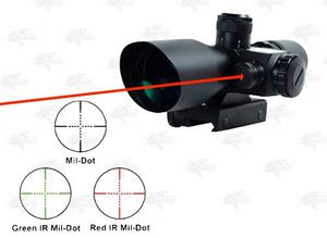 Mira Laser Red Green Dot Telescopica x40 Ncstar Xtreme