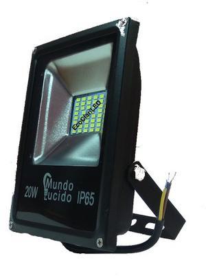 Reflector Led 20w Para Exterior Luminario Lampara Foco