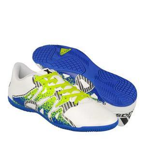 Tenis Casual adidas Para Hombre Simipiel Blanco Con Verde S7