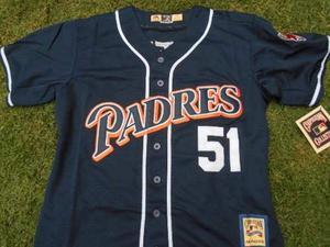 Jersey Béisbol Padres San Diego Retro  Trevor Hoffman