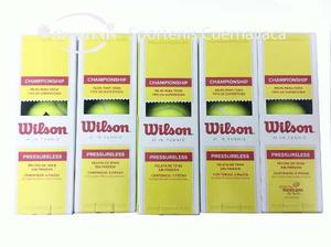 Paquete De 30 Botes De Pelota Wilson Sin Presión