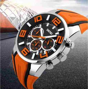 Reloj Tipo Militar Sport Navy Seal 5 Colores Sumergible 30m