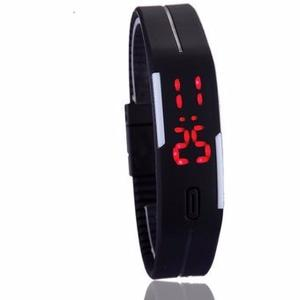 Reloj Touch Led Digital Deportivo Unisex Color Negro Barato