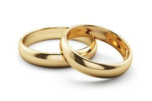 Argollas De Matrimonio Oro De 10k Boda (par De Argollas)