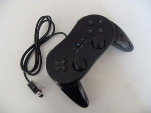 Clasico Classic Control Pro Para Wii Color Negro