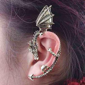 Pendiente Oreja Dragon Moda Oriental