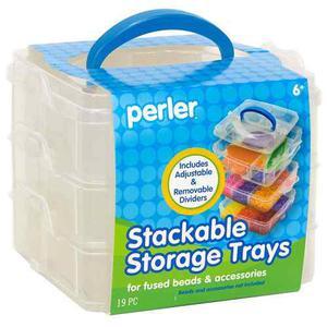 Perler Beads:: Caja Organizadora C/divisiones Móviles