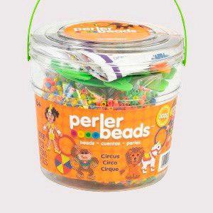 Perler Beads:: Cubeta Circus  Cuentas Midi (5mm)
