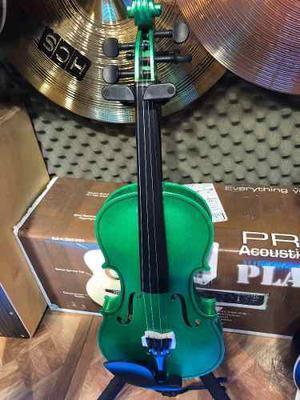 Violin Symphony Verde 4/4 Con Estuche