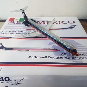 Aeromexico Md-80 Escala  Jc Wings Muy Raro