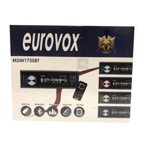 Auto Estereo Eurovox Mdmbt Bluetooth Multicolor Usb Aux