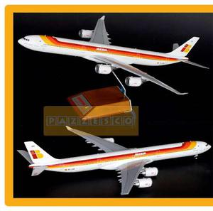 Avion Iberia Airbus A Jc Wings  Metal Con Base