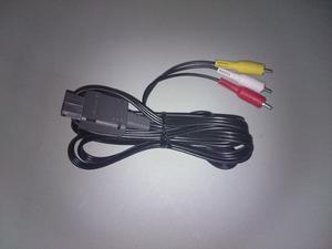 Cable De Audio Y Video Rca Para Snes N64 Y Gamecube Original