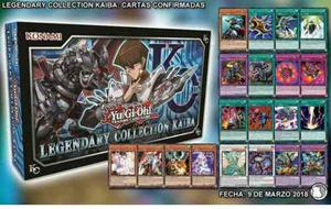 Legendary Collection Kaiba 1 Ed Remat! Yugioh. Envío