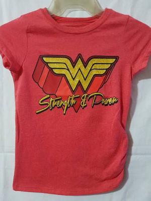 Playera Mujer Maravilla (Wonder Woman) Niña Original