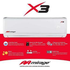 Minisplit Mirage X3 1 Tonelada Frió Calor