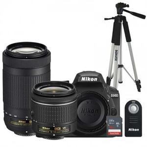 Nikon D Lentes mm, mm, Sd16gb Tripie, Control