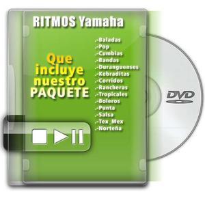 Ritmos Para Teclados Yamaha, Korg, Tyros, Solo Lo Mejor