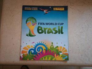 Album Del Mundial De Brasil  Completo Estampas A Pegar