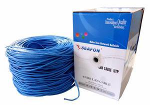 Bobina De Cable Para Red Utp 305m Catmm Seafon