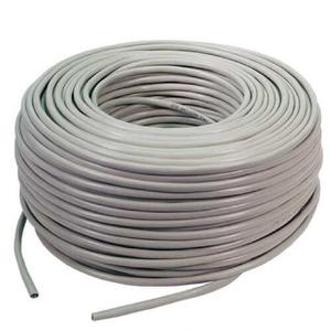Cable Red Utp Cat 5e Bobina Caja 100 Metros Para Rj45