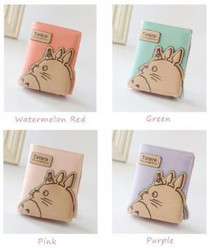 Cartera Totoro Mi Vecino Totoro Varios Colores Envío