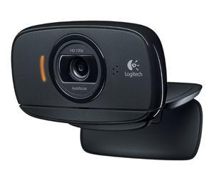 Cámara Web Logitech Cmp Hd C/microfono Clip P/monitor