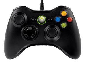 Control Xbox 360 Negro Alambrico Nuevo Original Blakhelmet E