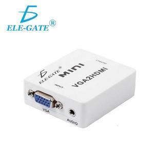 Convertidor Adaptador Vga A Hdmi Con Audio x Elegate