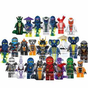 Excelente Set 24 Unidades De Ninjago Compatibles Con Lego