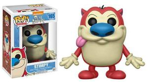 Funko Pop Ren And Stimpy Stimpy 165 Nickelodeon Funko Movies