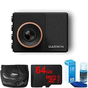 Garmin Dash Cam 55 Bundle With 64gb Microsd High-speed Memor