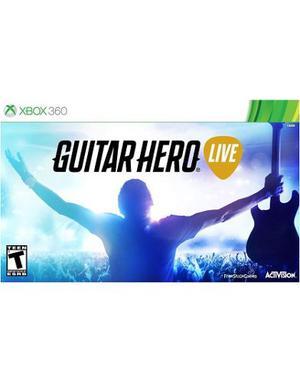 ..:: Guitar Hero Live Para Xbox 360::.. En Gamewow