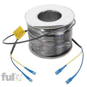 Kit 7 Cable Prefabricado Fibra Optica Monomodo Sc
