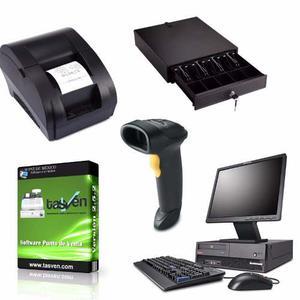 Kit Punto De Venta Barato Pc Software Lector Miniprinter