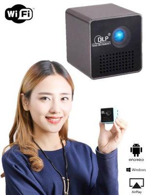 Mini Proyector De Bolsillo Wifi Unic Pico Dlp Recargable Msi
