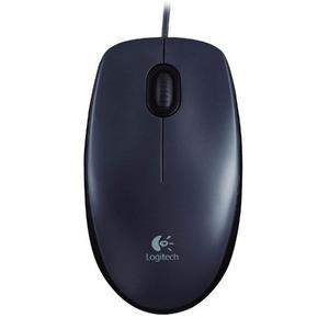 Mouse Logitech Óptico M90 Negro Usb Pc Mac