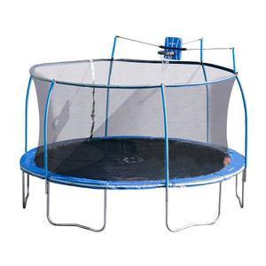 Trampolin Con Canasta De Basketbol Bounce Pro Steel Flex