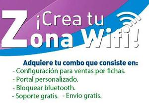 Vender Internet Por Fichas / Tiempo Hotspot Mikrotik Rb941