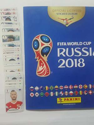 Álbum Fifa + 60 Estampas Sin Repetir World Cup Russia