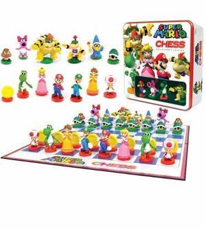Ajedrez Super Mario Bros Chess Nintendo Luigi Peach Yoshi