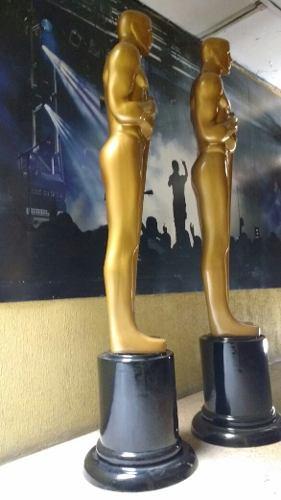 Estatuilla Gigante Oscar Figura De Fibra De Vidrio