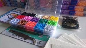 Estuche Con  Beads Mini+base+pinzas+accesorios Em2mini