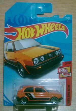 Hot Wheels Volkswagen Golf Mk Naranja Vw