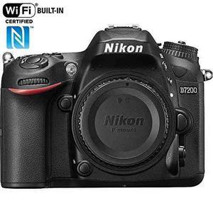 Nikon D Mp Cámara Digital Slr Con Formato Dx Con Wi-fi Y Nf